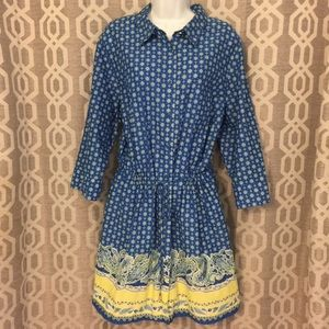Land's End Shirtdress 2X - 20W/22W like new